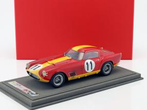Ferrari 250 TDF #11 Klassensieger 24h LeMans 1959 Dirty Version mit Vitrine 1:18 BBR