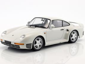 Porsche 959 year 1987 white metallic 1:18 Minichamps