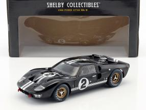 Ford GT-40 MK II #2 Winner 24h LeMans 1966 McLaren, Amon 1:18 ShelbyCollectibles