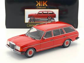 Mercedes-Benz 250T W123 Kombi Year 1978-82 red metallic 1:18 KK-Scale