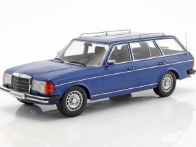 Mercedes-Benz 250T W123 Kombi Year 1978-82 blue metallic 1:18 KK-Scale