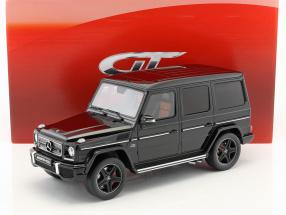 Mercedes-Benz G-Class G65 AMG year 2013 magnetit black 1:12 GT-Spirit