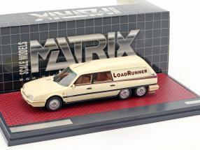Citroen CX Break Loadrunner Baujahr 1989 beige 1:43 Matrix