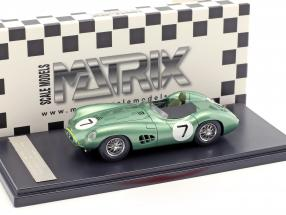 Aston Martin DBR1 #7 Winner RAC Tourist Trophy 1958 Moss, Brooks 1:43 Matrix