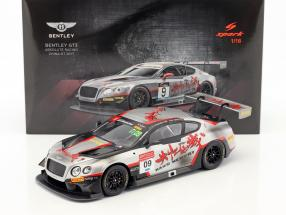 Bentley Continental GT3 #09 China GT Championship 2017 Geng, Imperatori 1:18 Spark
