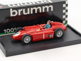 Juan Manuel Fangio Ferrari D50 #1 Winner British GP World Champion formula 1956 1:43 Brumm