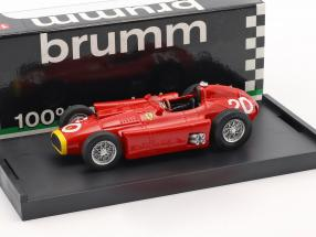 Juan Manuel Fangio Ferrari D50 #20 Winner monaco GP World Champion formula 1 1956 1:43 Brumm