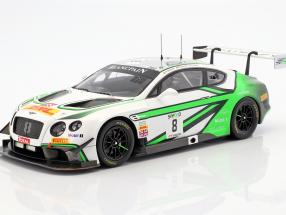 Bentley Continental GT3 #8 2nd 24h Spa 2017 Soulet, Abril, Soucek 1:18 Spark