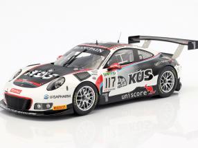 Porsche 991 GT3 R #117 24h Spa 2017 Estre, Christensen, Vanthoor 1:18 Spark