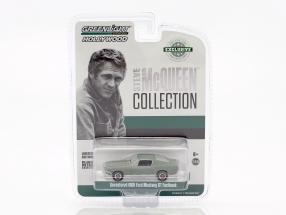 Ford Mustang GT Fastback unrestored Steve McQueen Film Bullitt (1968) grün 1:64 Greenlight