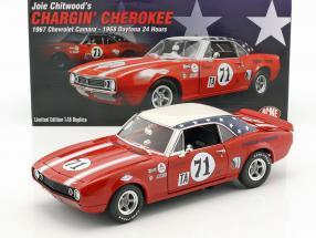 Chevrolet Camaro #71 24h Daytona 1968 Chitwood, Barton, Hoffmann 1:18 GMP