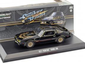 Pontiac Firebird Trans Am year 1977 Movie Smokey and the Bandit (1977) black 1:43 Greenlight
