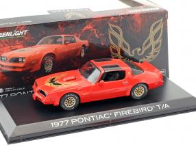 Pontiac Firebird Trans Am year 1977 red 1:43 Greenlight