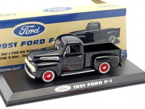 Ford F-1 Pick up year 1951 raven black 1:43 Greenlight