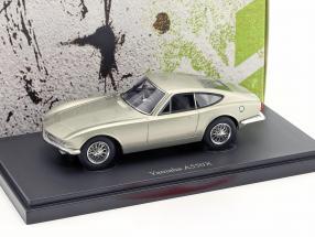 Yamaha A550X year 1964 silver gray metallic 1:43 AutoCult