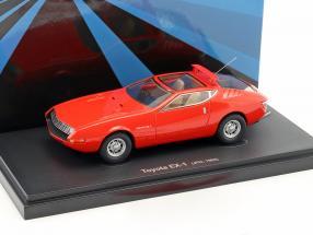Toyota EX-1 Baujahr 1969 rot 1:43 AutoCult
