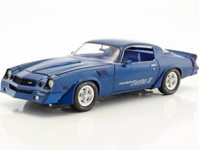 Chevrolet Z/28 Yenko Turbo Z Baujahr 1981 blau 1:18 Greenlight
