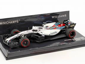 Lance Stroll Williams FW41 #18 Formel 1 2018 1:43 Minichamps