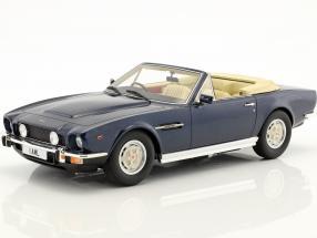Aston Martin V8 Volante Baujahr 1978 blau metallic 1:18 Cult Scale
