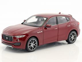 Maserati Levant year 2017 dark red 1:24 Welly