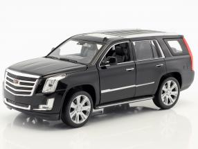 Cadillac Escalade year 2017 black 1:24 Welly