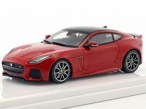 Jaguar F-Type SVR AWD caldera red 1:43 TrueScale