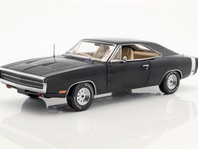 Dodge Charger Baujahr 1970 TV-Serie Supernatural (seit 2005) schwarz 1:18 Greenlight