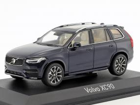 Volvo XC90 year 2015 dark blue metallic 1:43 Norev