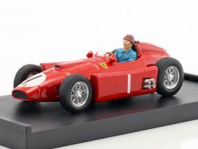 Juan Manuel Fangio Ferrari D50 #1 Winner Großbritannien GP World Champion Formel 1956 1:43 Brumm