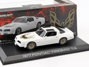 Pontiac Firebird Trans Am year 1977 cameo white 1:43 Greenlight