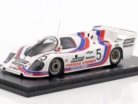 Stefan Bellof Kremer Porsche CK5 #5 Spa 1982 1:43 Spark