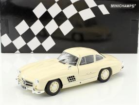 Mercedes-Benz 300 SL (W198) year 1955 cream 1:18 Minichamps