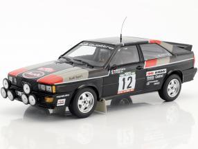 Audi Quattro #12 Rally de Portugal 1981 Mouton, Pons 1:18 Minichamps