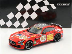 Mercedes-Benz AMG GT-R #50 year 2017 Red sow 1:18 Minichamps