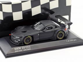 BMW Z4 GT3 Plain Body Version satin black 1:43 Minichamps