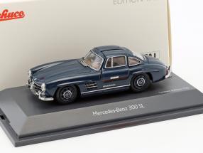 Mercedes-Benz 300 SL Coupe blau 1:43 Schuco