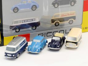 4-Car Gift Set B 1:90 Schuco Piccolo