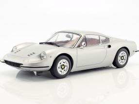 Ferrari 246 GT Dino year 1973 silver 1:12 KK-Scale