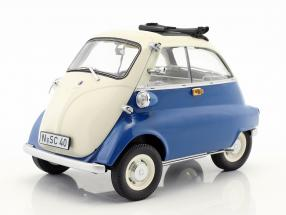 BMW Isetta Export year 1955 blue / beige 1:18 Schuco