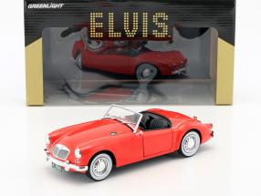 MG A 1600 Roadster MKI Baujahr 1959 Elvis Presley Film Blue Hawaii (1961) rot 1:18 Greenlight