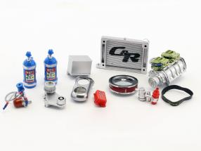Drag Kings 1320 Accessory pack 1:18 GMP