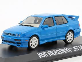 Volkswagen VW Jetta A3 year 1995 blue 1:43 Greenlight