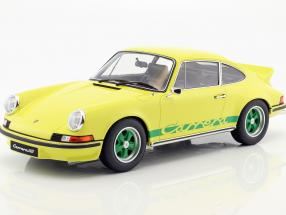 Porsche 911 2.7 RS Carrera year 1973 yellow / green 1:12 GT-Spirit