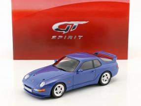Porsche 968 Turbo S coupe year 1993 maritime blue 1:18 GT-Spirit