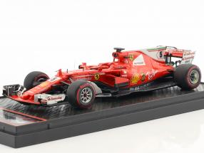 Sebastian Vettel Ferrari SF70H #5 Winner Brasilien GP Formel 1 2017 1:43 BBR