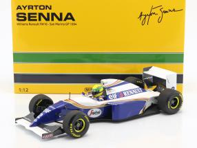 Ayrton Senna Williams FW16 #2 San Marino GP Formel 1 1994 1:12 Minichamps