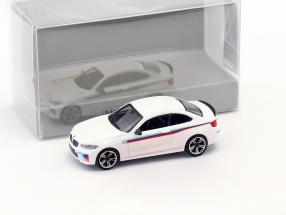 BMW M2 Presentation Car 2016 white 1:87 Minichamps