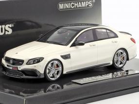 Brabus 600 auf Basis Mercedes-Benz AMG C 63 S Baujahr 2015 weiß 1:43 Minichamps