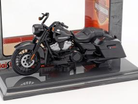 Harley-Davidson Road King Special year 2017 black 1:18 Maisto