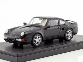 Porsche 965 V8 prototype year 1988 black 1:43 AutoCult